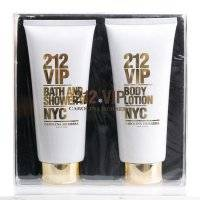 Набор CH 212 VIP Perfumed Body Lotion + Bath and Shower Gel 400ml