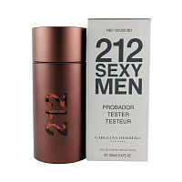 Tester Carolina Herrera 212 Sexy Men